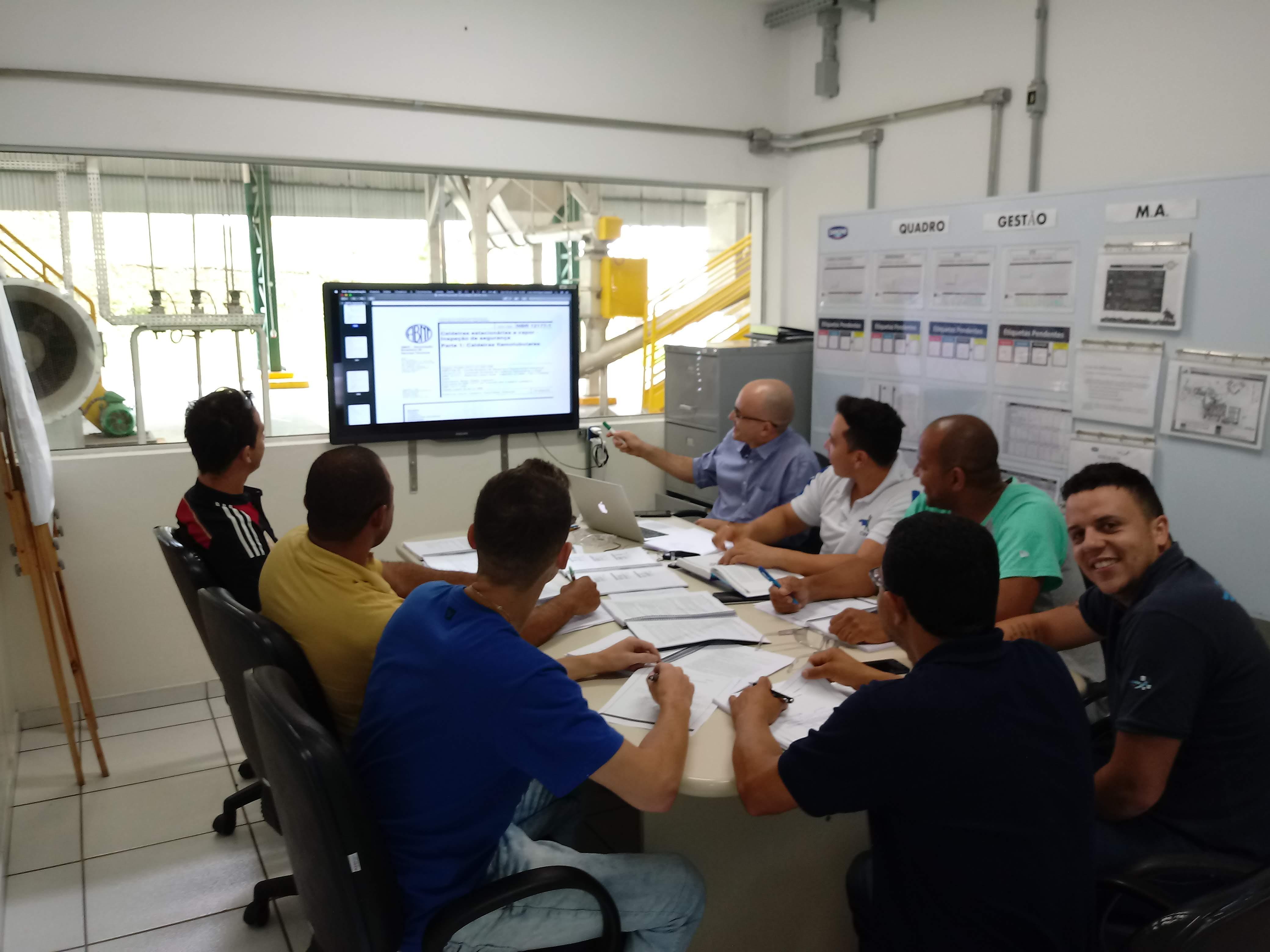 Treinamento Caldeiras e Vasos de Pressão - Danone - Engenheiro Líder